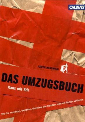 Das Umzugsbuch - Judith Borowski - Inkl. Umzugsreinigung