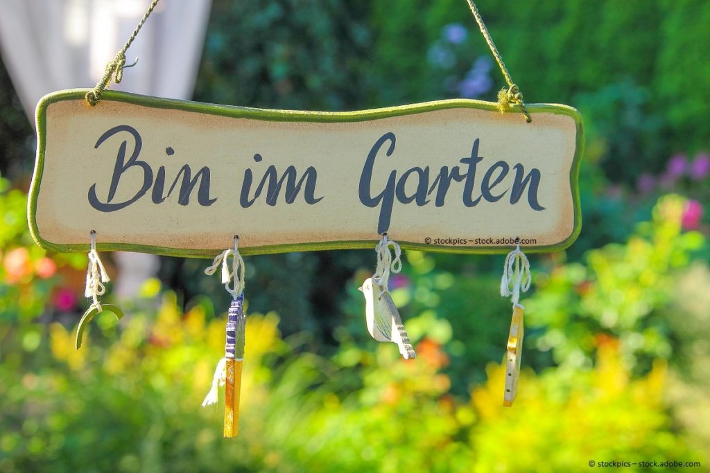 Gartenbau, Gartengestaltung: Wissen ausbauen, Garten gestalten