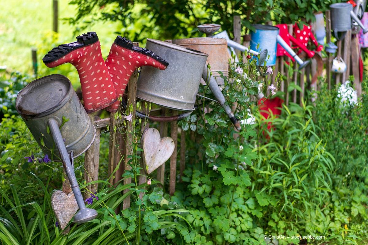 Natürliche Gartenideen - damit der Garten lebt